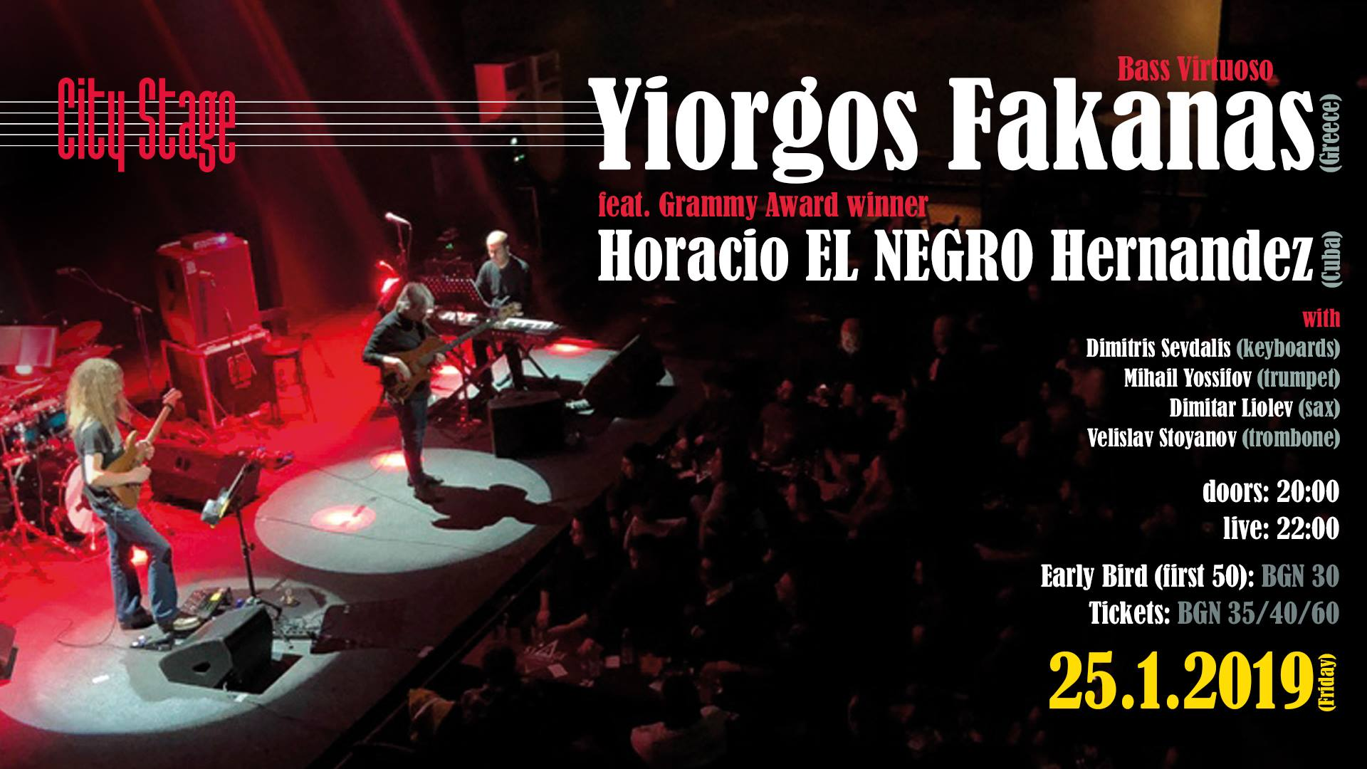 Yiorgos Fakanas feat. Horacio El NEGRO Hernandez