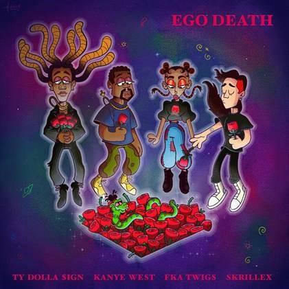 Ty Dolla $ign - Ego Death (feat. Kanye West, FKA twigs & Skrillex) [Official Visualizer]