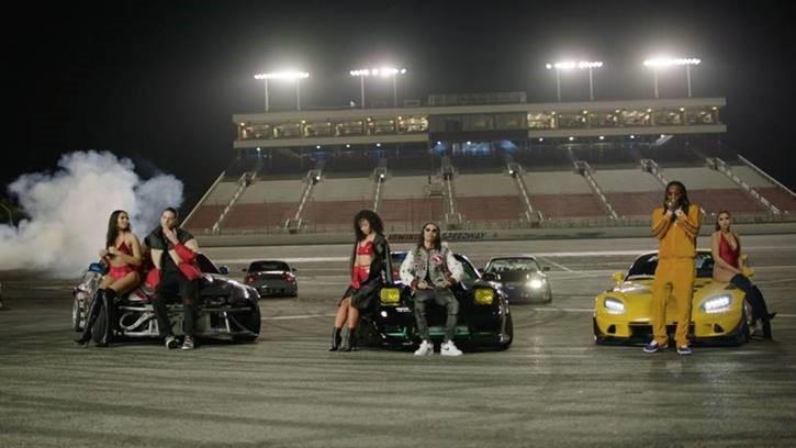 YBN Nahmir - 2 Seater (feat. G Eazy & Offset) [Official Music Video]