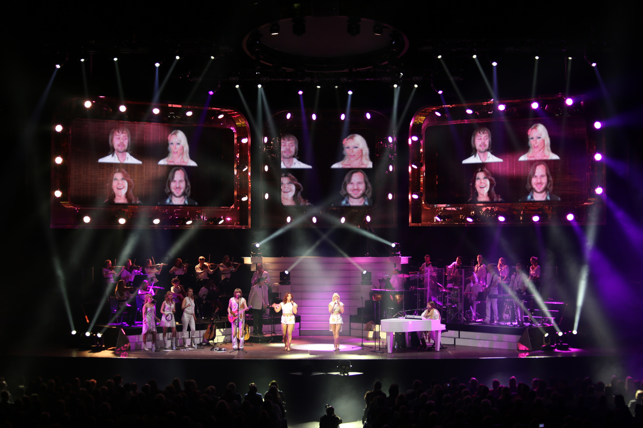 ABBA the show with concert in Bulgaria
