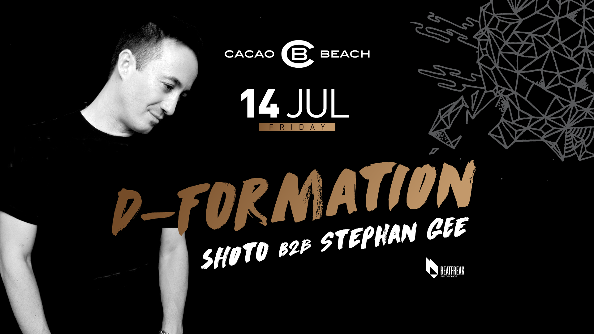 D-Formation and Carlo Ruetz in Cacao Beach