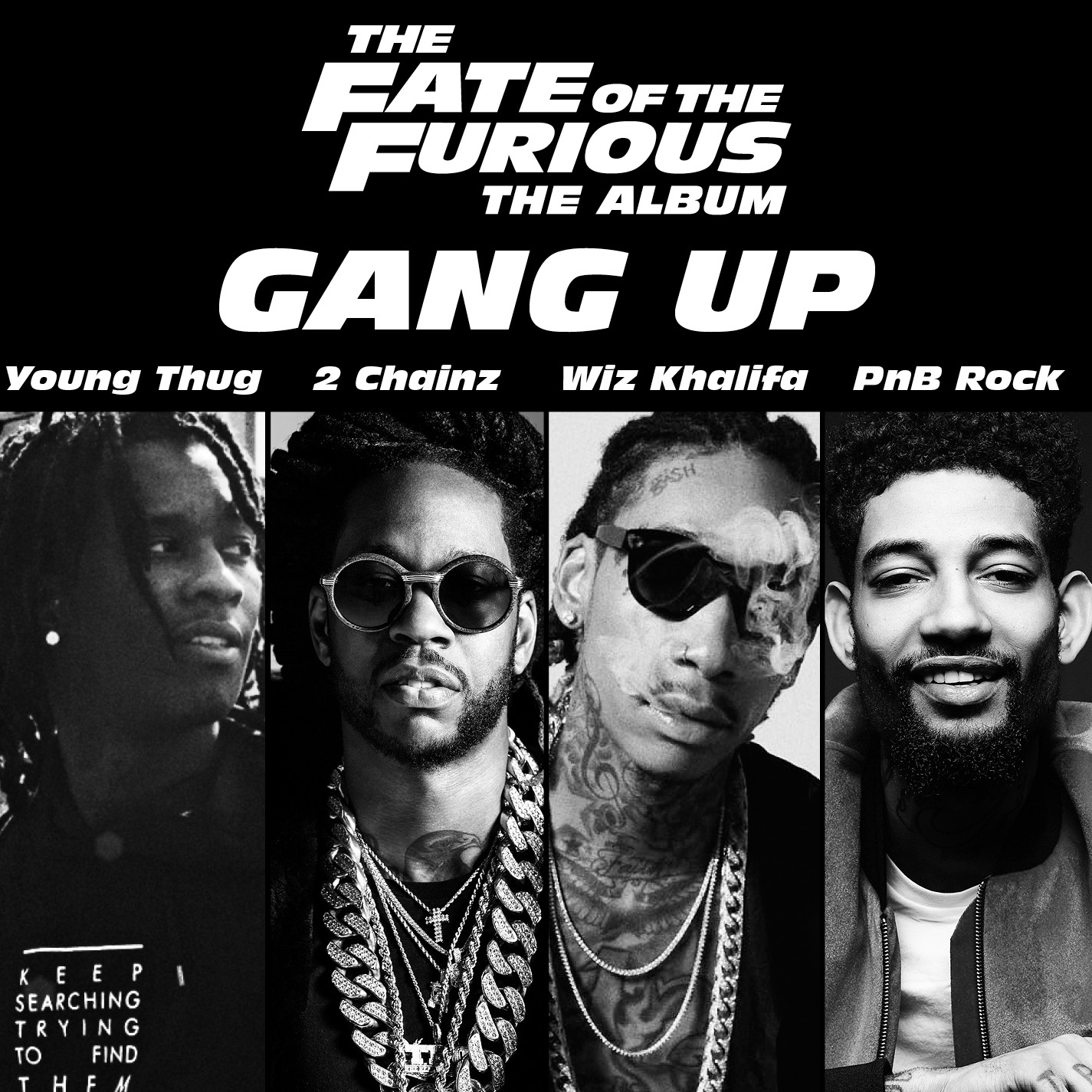 Young Thug, 2 Chainz, Wiz Khalifa & PnB Rock – Gang Up (The Fate of the Furious: The Album) [AUDIO]
