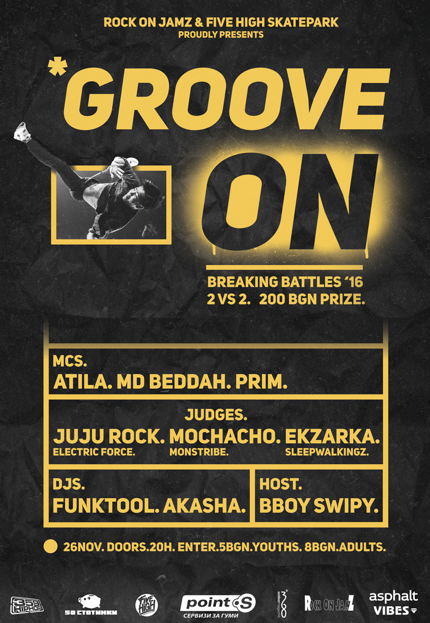Are you ready for Groove On Breaking Battles?