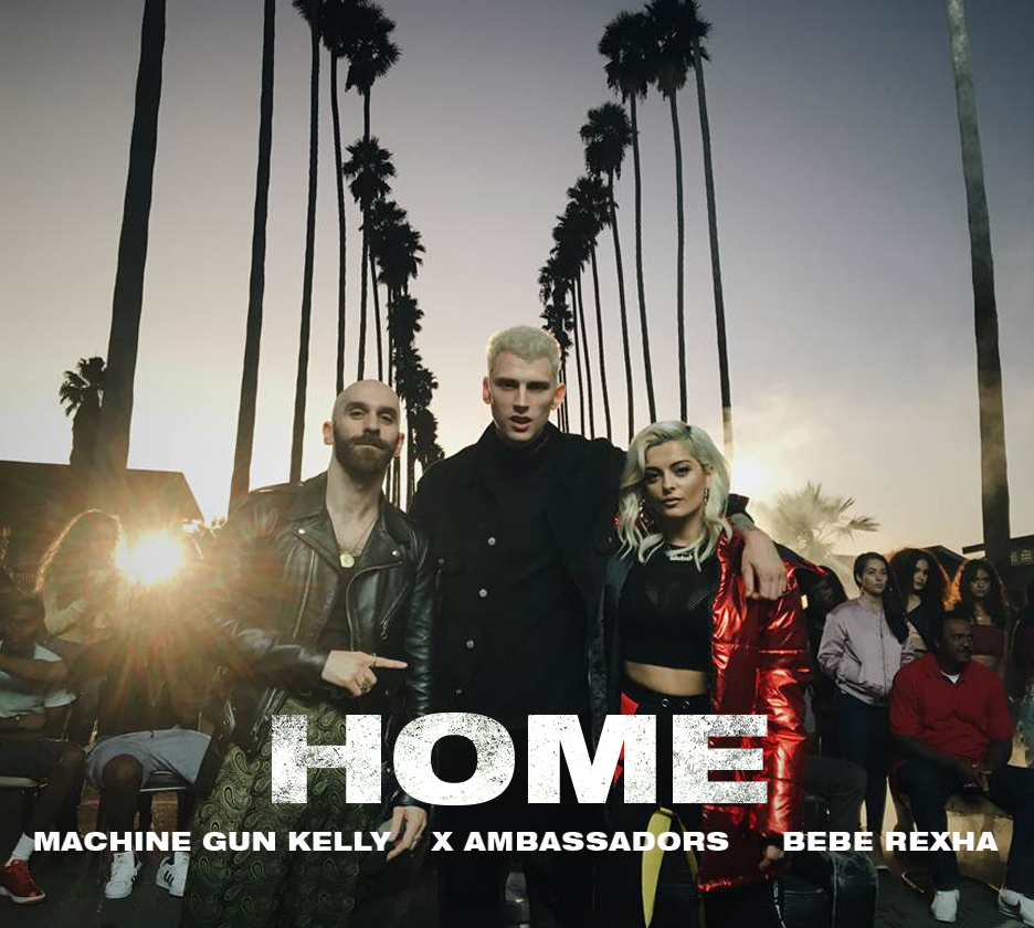 New Music Machine Gun Kelly X Ambassadors Bebe Rexha Home Music Tour