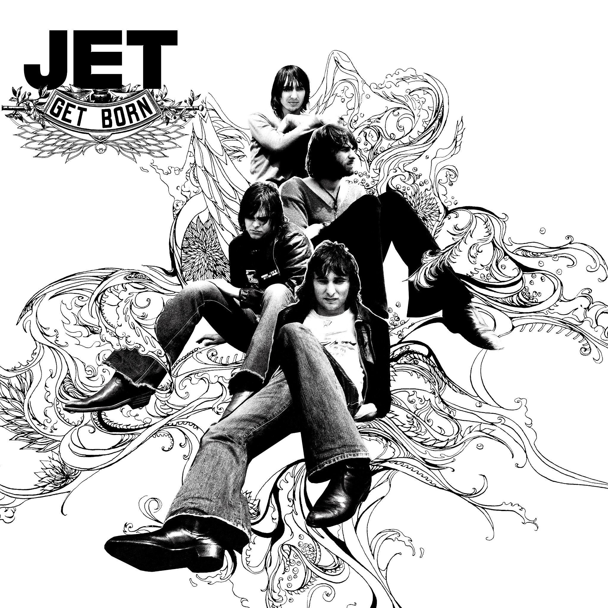 JET REISSUE THEIR CLASSIC 'GET BORN' AND 'SHINE ON' INCLUDING RARITIES ON LP/CD/DIGITAL 7 JULY