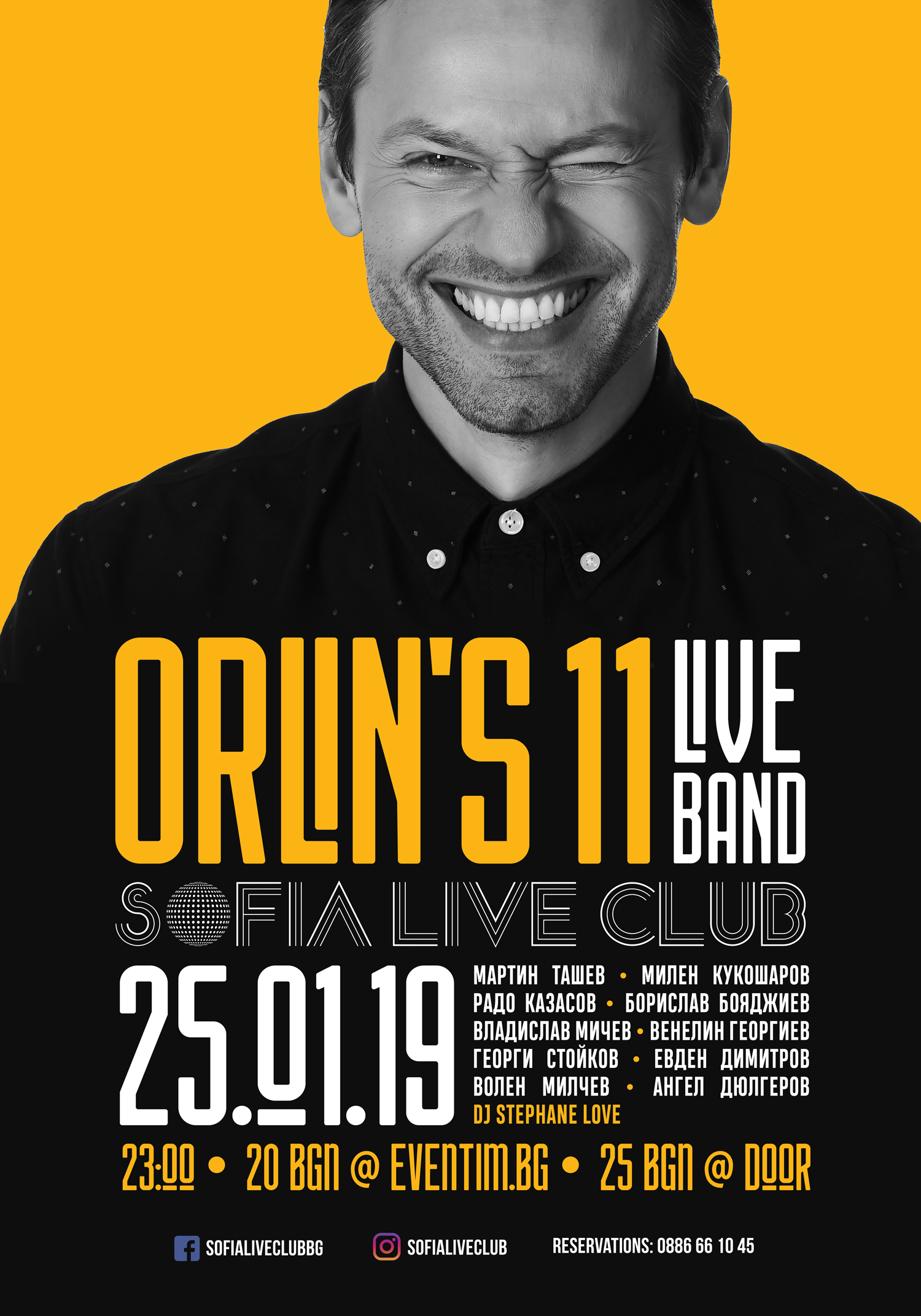 Orlin Pavlov live in Sofia Live Club