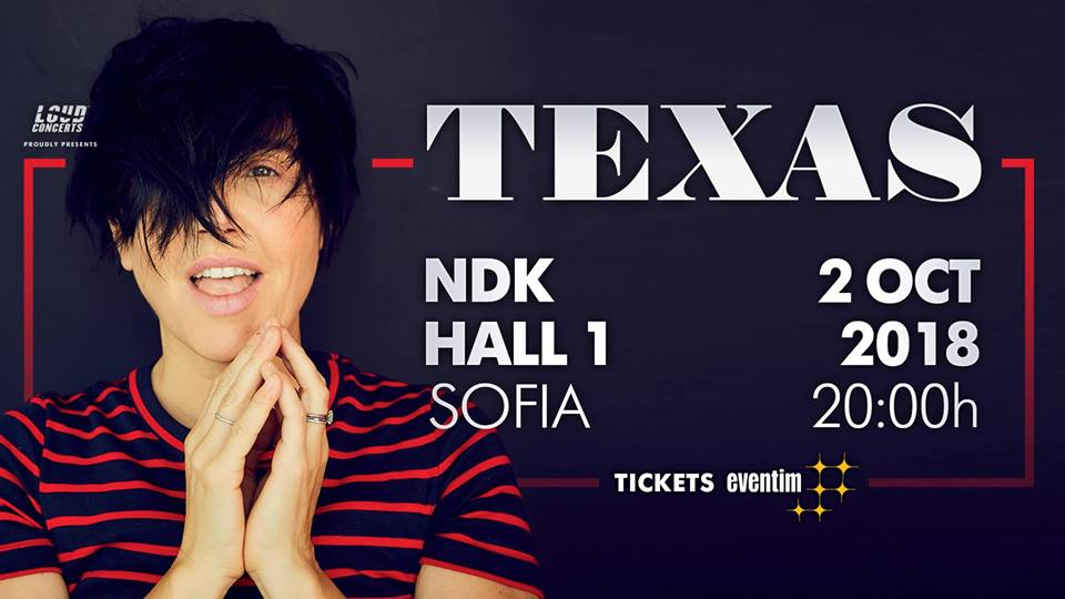 Texas with concert in Sofia