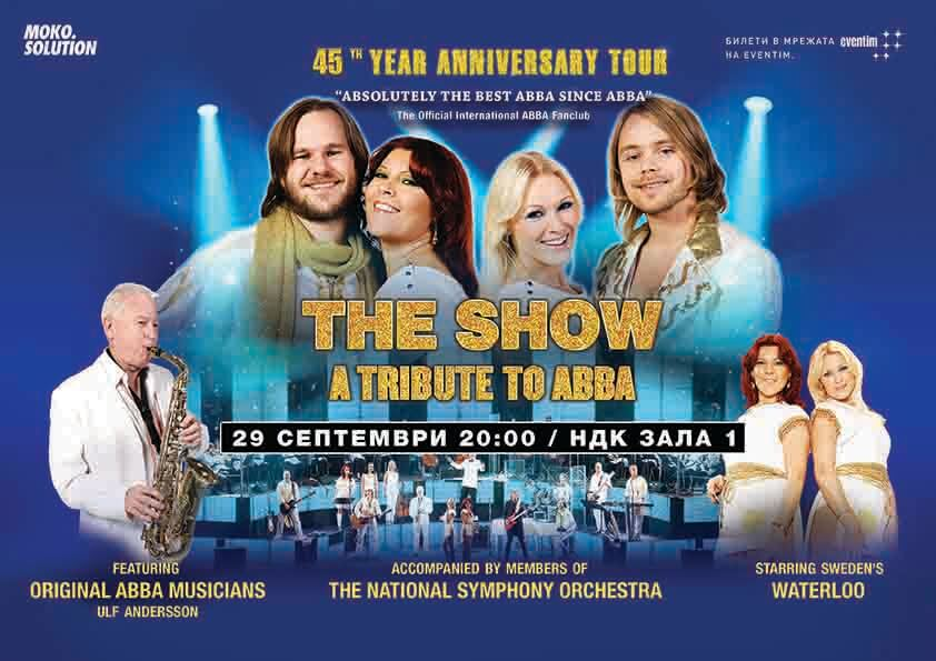THE SHOW ABBA TRIBUTE