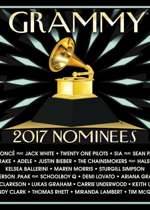 "Various Artists - ""2017 GRAMMY® Nominees"""""