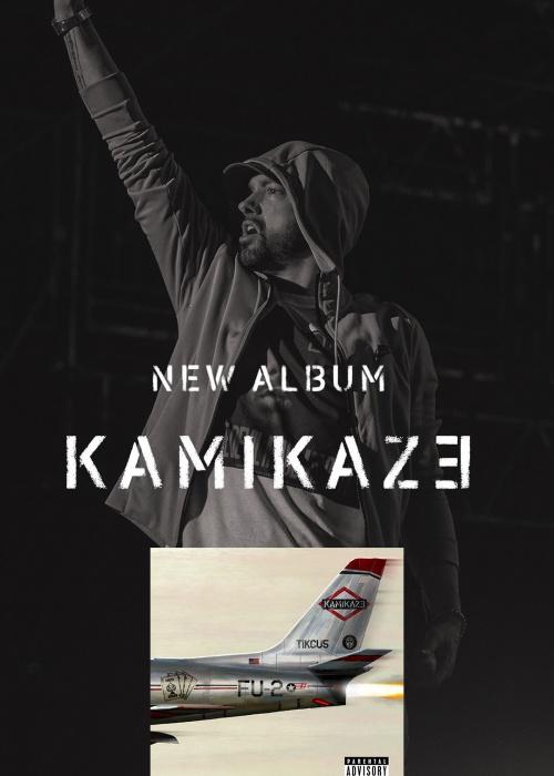 """Eminem - """"Kamikaze"""""""