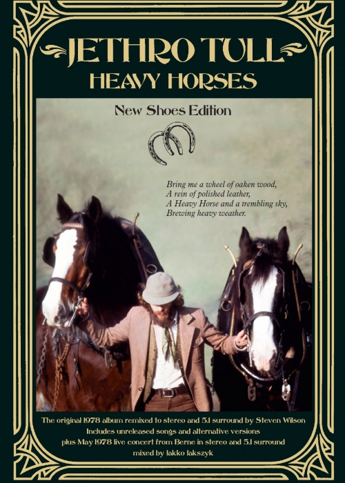 "Jethro Tull - ""Heavy Horses (New Shoes Edition)"""