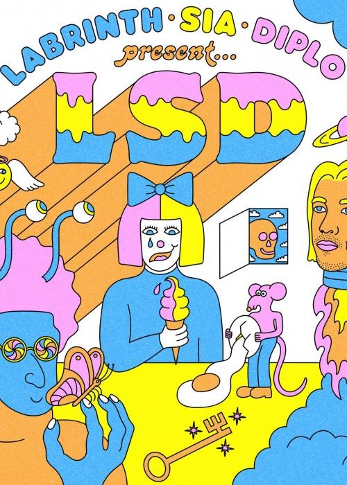 "LSD - ""Labrinth, Sia & Diplo Present... LSD"""