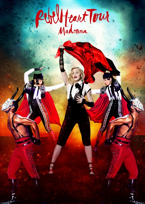 "Madonna - ""Rebel Heart Tour"" - CD, DVD and Blu-Ray"