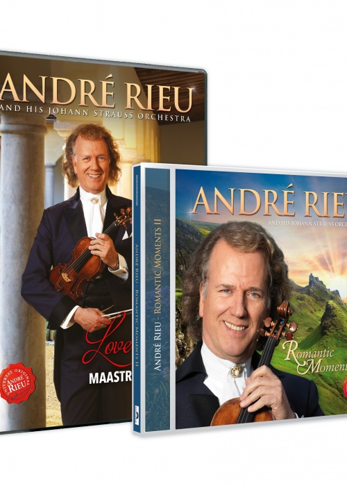 André Rieu - 'Love in Maastricht' DVD и 'Romantic Moments II' CD