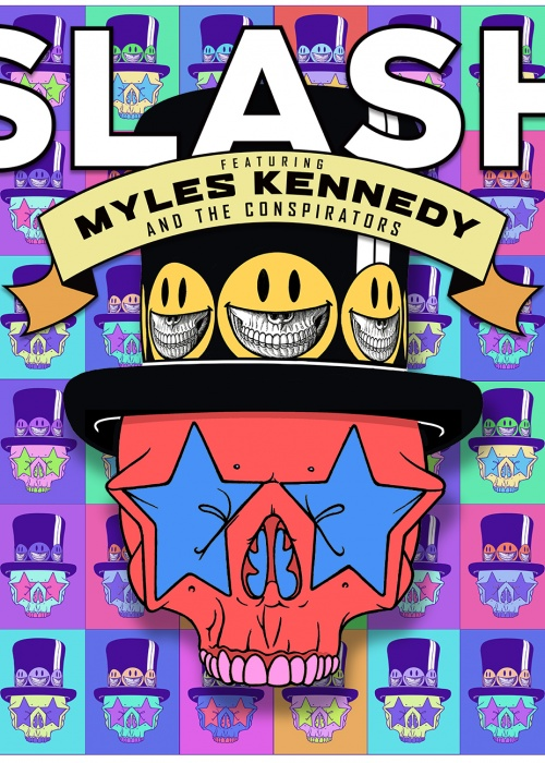"Slash ft. Myles Kennedy & The Conspirators - ""Living The Dream"""