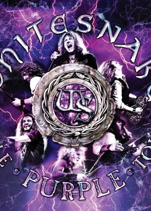 "WHITESNAKE - ""WHITESNAKE: THE PURPLE TOUR (LIVE)"""