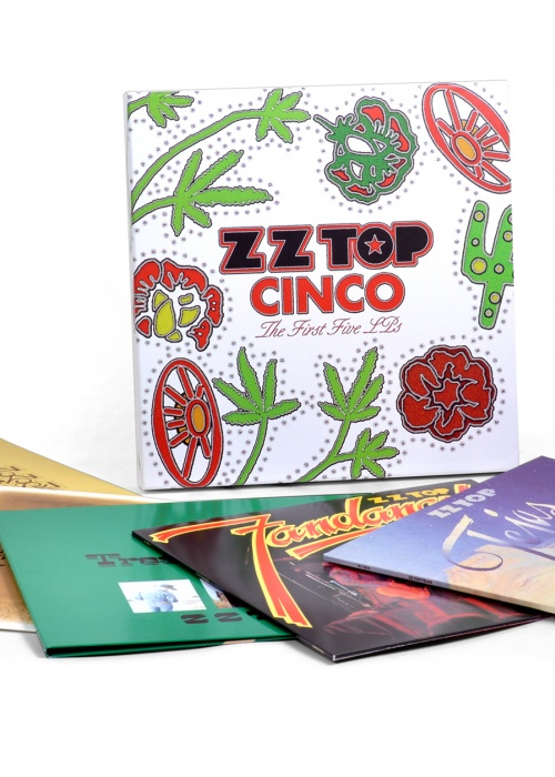 "ZZ Top - ""Cinco: The First Five LPs"""