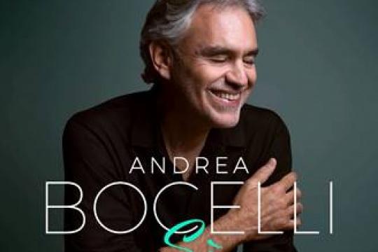 ANDREA BOCELLI with new album