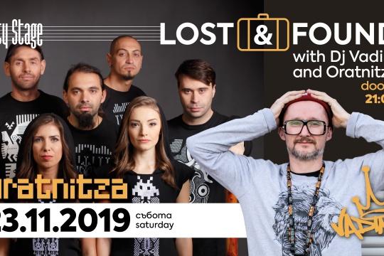 Lost & Found: DJ Vadim + Oratnitza   City Stage