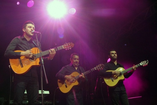 Gipsy Kings with concert in Bulgaria