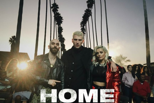 New Music: Machine Gun Kelly, X Ambassadors, & Bebe Rexha – 'Home'