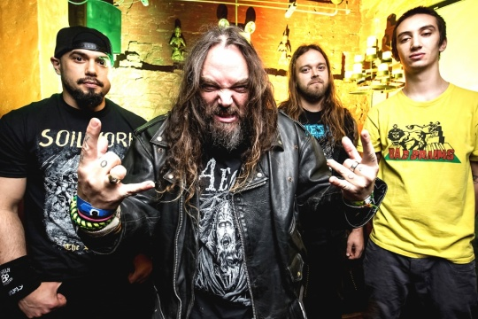 Soulfly with concert in Sofia