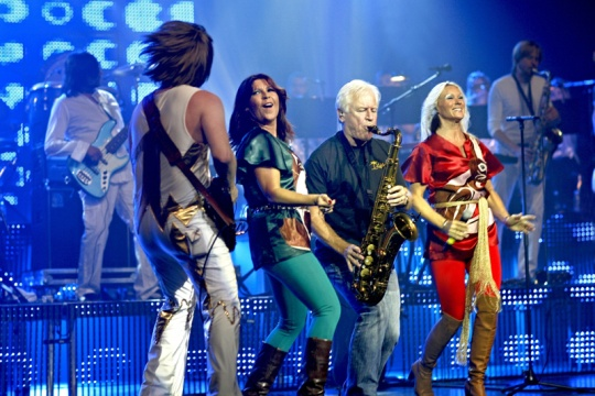 Project ABBA with concert in Bulgaria