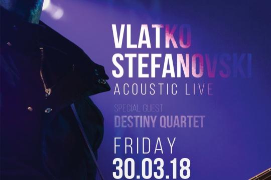 Vladko Stefanovski in Sofia Live Club