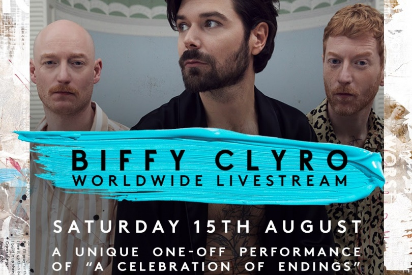 Biffy Clyro announce special livestream show to launch new album 'A Celebration of Endings'