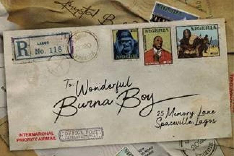 Burna Boy - Wonderful [Official Lyric Video]