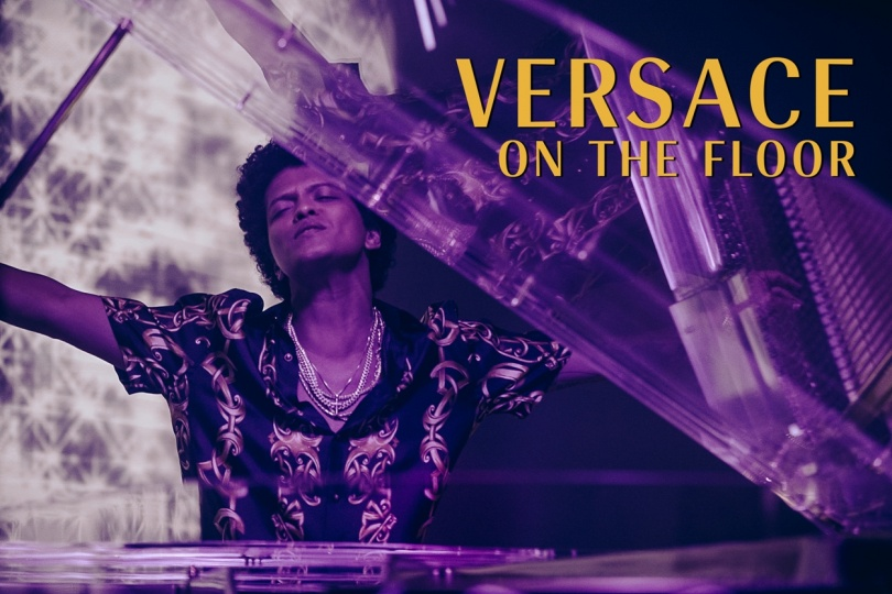 "BRUNO MARS AND ZENDAYA STAR IN LONG-AWAITED VIDEO FOR ""VERSACE ON THE FLOOR"""