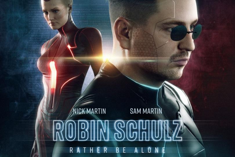 Robin Schulz & Nick Martin & Sam Martin - Rather Be Alone (Official Lyric Video)
