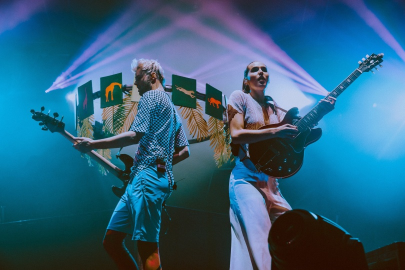 SOFI TUKKER with concert in Sofia