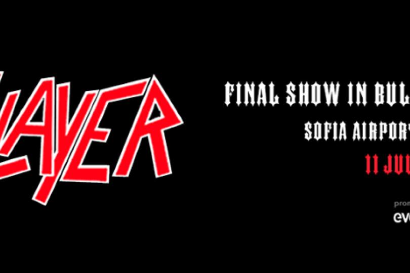 Slayer again in Sofia