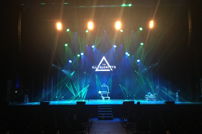Тhe Illusionists live in Sofia