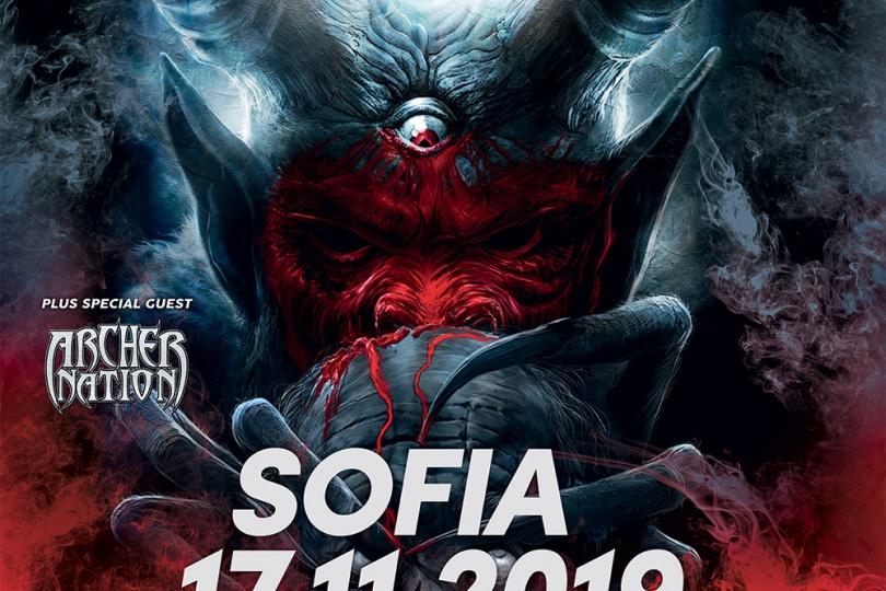 Annihilator live in Sofia